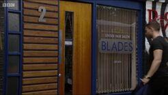Blades door