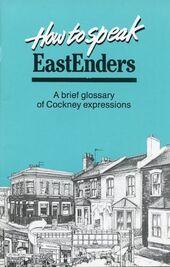How to Speak EastEnders (1988 Book)