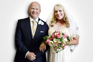Phil Mitchell and Sharon Rickman Wedding (26 September 2014)