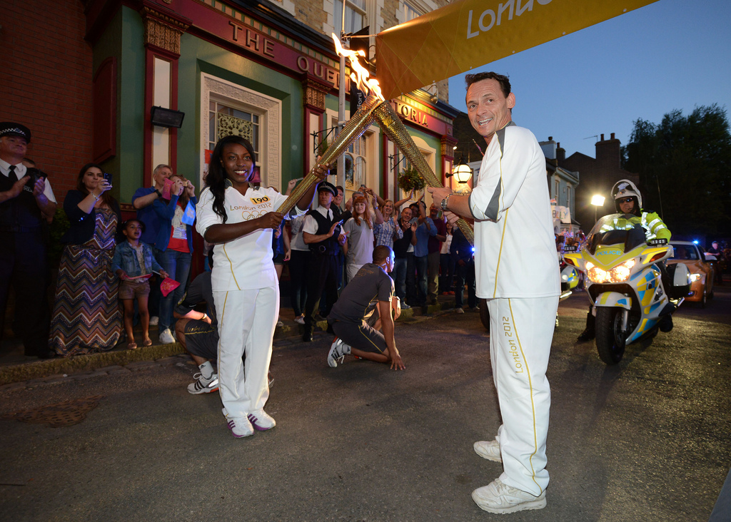 Billy Mitchell Olympic Torch (2012)