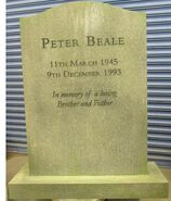 Pete Beale Headstone
