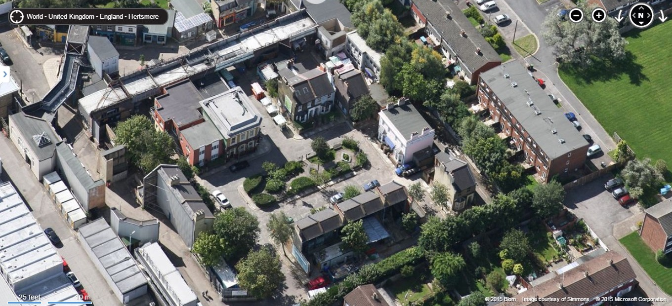 Image Walford D Satellite Map Jpg EastEnders Wiki FANDOM - Microsoft satellite maps