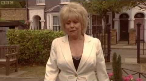 EastEnders Peggy's Last Scene - Peggy's Theme - 10 September 2010