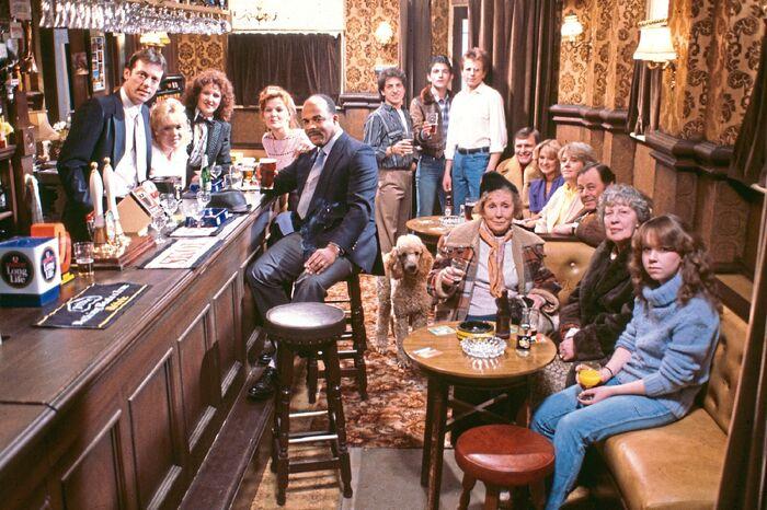 EastEnders Cast Photo 2 (1985)