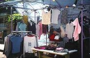 Bridge Street Market Clothes Stall Zoe Slater