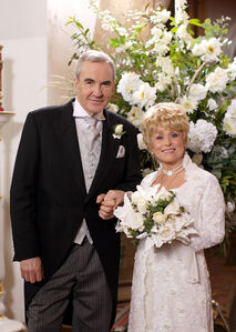 Archie Mitchell and Peggy Mitchell Wedding (2 April 2009)