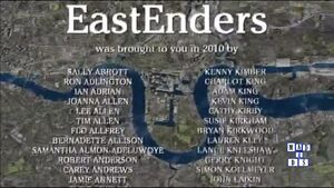 EastEnders 2010 End of Year Credits (27 December 2010)