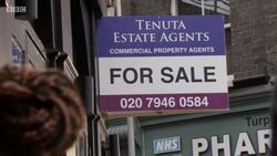 Tenuta Estate Agents Sign (30 January 2018)