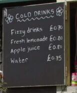 Park Cafe Price List 2