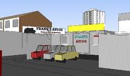 Easties sketchup model franks autos