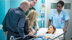 Lauren in Hospital (2013)