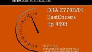 EastEnders VT Clock (19 August 2013)