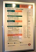 EastEnders Tube Map