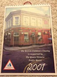 EastEnders 2001 Calendar Front