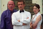 Frank Butcher and Ray Taylor and Lucy (Perfectly Frank, (2003)