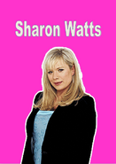 Sharon Watts Name Card