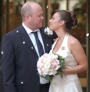 Phil Mitchell and Kate Morton Wedding (5 September 2003)