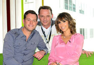 Matt Baker, Billy Mitchell and Alex Jones (Billy's Olympic Nightmare)