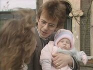 Michelle Fowler and Lofty Holloway and Vicki Fowler (25 December 1986 - Part 1)