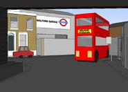 Easties sketchup model geo st bus stop