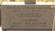 Easties ethel grave