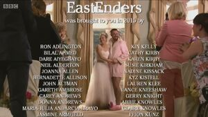 EastEnders 2015 End of Year Credits (1 January 2016)