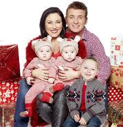 Kat And Alfie Moon and Children