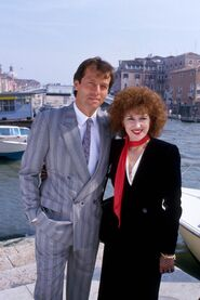 Den and Angie in Venice