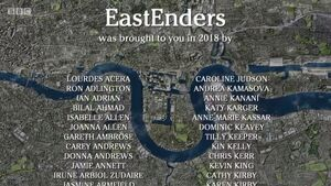 EastEnders 2018 End of Year Credits (1 January 2019)