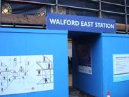 Walford East Tube Station