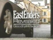 EastEnders Revealed Goodbye Pauline (1 January 2007)