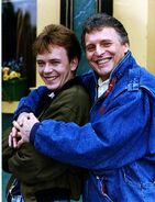Ian Beale and Pete Beale
