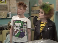 Punk Girl and Punk Boy (6 August 1987)