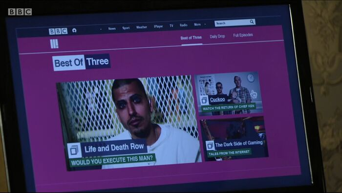 BBC Three (16 February 2016)