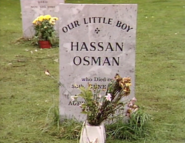 Hassan Osman's Headstone