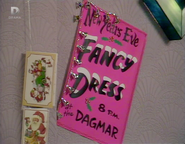 The Dagmar New Year's Eve Fancy Dress Poster (31 December1987)