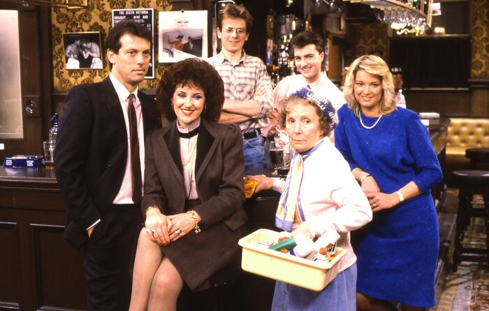 EastEnders Cast Photo 4 (1985)