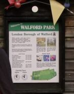 Walford Park Poster (2015)