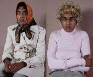 Tamwar as Dot and Peggy