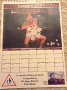 EastEnders 2001 Calendar 1