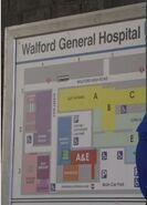 Walford General Hospital Map