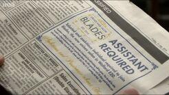 Blades Job Advert
