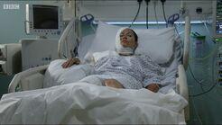 Kat in Hospital