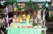 Bridge Street Market Sweet Stall at Christmas