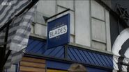 Blades Sign Outside