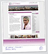 LB Lettings Website
