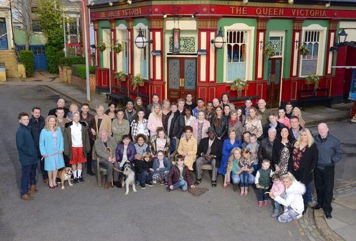 EastEnders Cast (2014)