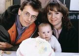 Lofty Holloway and Michelle Fowler and Vicki Fowler