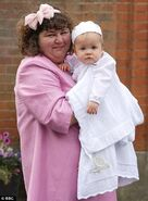 Heather Trott and George Trott Christening (20 September 2010)