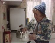 Ethel's Sheltered Housing kitchen (12 January 1988)